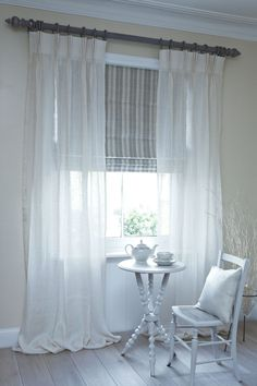 Astounding Useful Ideas: Affordable Bamboo Blinds bedroom blinds thoughts.Ikea Blinds Bamboo blinds for windows cleaning.Roll Up Blinds Fun. Living Room Blinds, Fabric Blinds, Curtains, Drapes Curtains, Home, Interior, Blinds Design, Curtains With Blinds, Window Curtains White