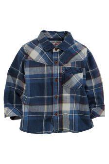 Next Long Sleeve Check Shirt (3mths-6yrs) £10.50