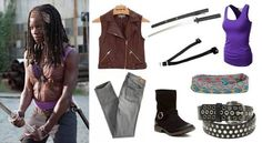 michonne costume - Google Search