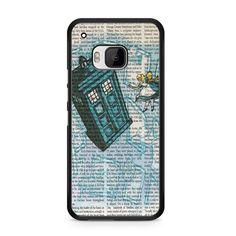 Alice In Wonderland, Tardis Doctor Who HTC One M9 Case