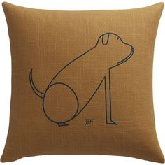 "dog 16"" pillow"