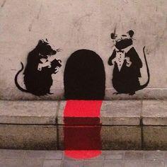 Fancy rats #banksy pic.twitter.com/777YESYUYY