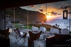 Santa Barbara Eco-Beach Resort, Sao Miguel, Azores – a dream between mountains and sea Bergen, Santa Barbara, Beach Resorts, The Good Place, Portugal, Patio, Island, Vacation, Mountains