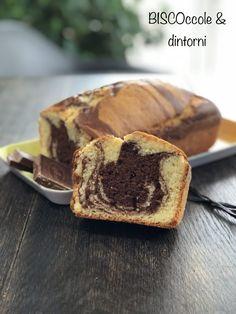 Plumcake con farina di riso marmorizzato al cioccolato (glutenfree e senza burro)
