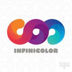 Infinicolor logo #logo #design