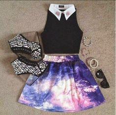 Wear the galaxy in a faboulous way!
