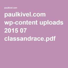 paulkivel.com wp-content uploads 2015 07 classandrace.pdf