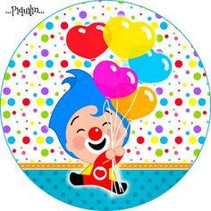 Kit Imprimible GRATIS Plim Plim Circus Theme Party, Carnival Birthday Parties, Circus Birthday, Party Themes, Birthday Ideas, Send In The Clowns, Baby Boy 1st Birthday, Ideas Para Fiestas, Barbie