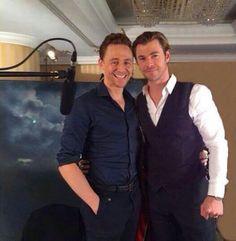 Hiddlesworth. I ship it. I just ship everyone with Tom. Ok you love Tom, you love Tom, and you're cute, you love Tom too.
