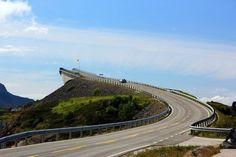 Атлантическая дорога, Норвегия.