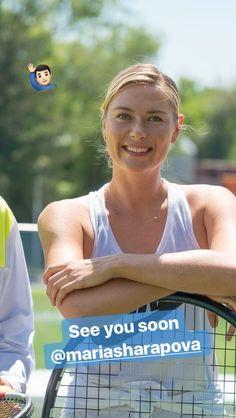Maria Sharapova Evian