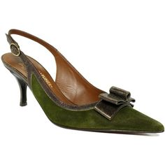 Donald Pliner Shoes, Rivka Slingback Pumps ($200) found on Polyvore