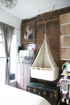 tiny nursery nook <3