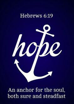 Hebrews 6:19 | by joshtinpowers