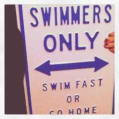 We need this at the pool. Especially for the people who like to sit out and make us redo our WHOLE SET! Like last night.