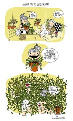 Funny Images, Funny Pictures, Catalog Design, Humor Grafico, Plant Illustration, Funny Stories, Drawing For Kids, Funny Comics, Comic Strips