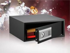 NEW! Stalwart Electronic Large Digital Steel Safe for Laptops and tablets! Ends 6/13 at 12 N EST!