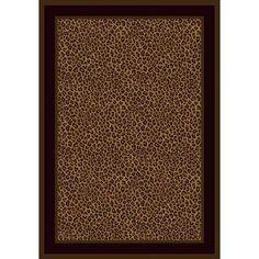 Milliken Innovation Zimbala Leopard Print Rug | Wayfair