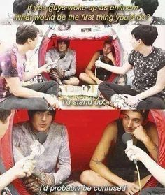 BMTH, Danisnotonfire and AmazingPhil I laughed to hard at this xD