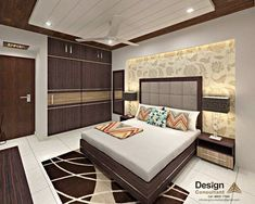 Beautiful Bedroom Interior Design Ideas Ideas For an Excellent Bedroom Interior Design Beautiful Bedroom Interior Design Ideas. The interior design of a bedroom is the most common concern in every … Bedroom Designs India, Bedroom Cupboard Designs, Wardrobe Design Bedroom, Luxury Bedroom Design, Bedroom Furniture Design, Home Room Design, Master Bedroom Design, Wardrobe Bed, Beds Master Bedroom