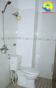 phòng tắm tại khách sạn thảo hương sầm sơn