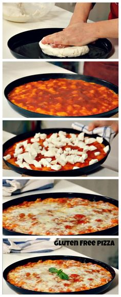 Make your own #glutenfree #pizza and make everyone happy!