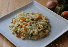Risotto con verdure / semplice, leggero e buonissimo