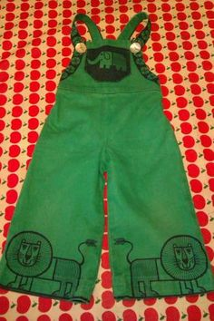Adorable clothkits dungarees age 1-2 - I wish these were big enough to fit my little one!