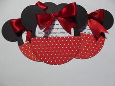 Convite De Aniversário - Minnie