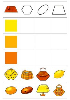 play on the development of logic Shapes For Kids, Math For Kids, Preschool Printables, Preschool Worksheets, Preschool At Home, Preschool Crafts, Kids Study, Color Games, Teaching Aids