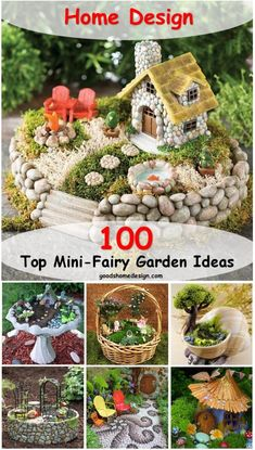 Looks like fairy gardens are a real trend nowadays, as they are adorable little worlds that you can place or