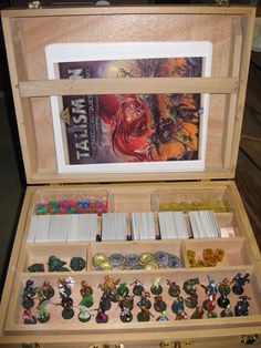 Another storage option. | Talisman (Revised 4th Edition) | BoardGameGeek
