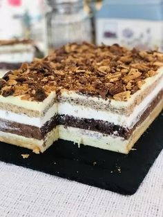 Romanian Desserts, Homemade Cakes, Cake Cookies, Easy Desserts, Nutella, Cake Recipes, Sweet Treats, Deserts, Tiramisu