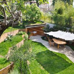 Nicola Spinetto : Jardin Pop-Up pergola, ombrage facile