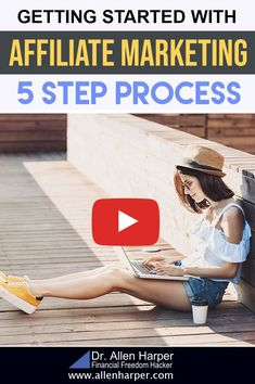 Getting Started with Affiliate Marketing 5 Step Process Make Money Blogging, Make Money From Home, Way To Make Money, Make Money Online, Facebook Marketing, Affiliate Marketing, How To Find Out, How To Become, How To Make