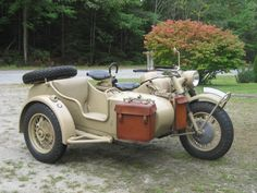 Would love to take a ride in the sidecar!