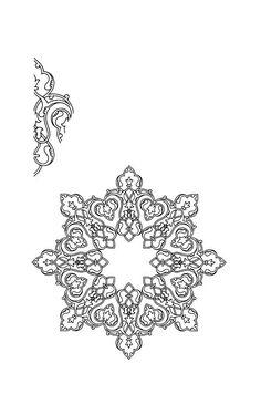 Resultado de imagen de persian islamic patterns black and white