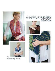 A Shawl for Every Season Crochet Pattern eBook by TheFireflyHook