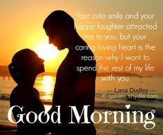 Sweet love good morning messages for her