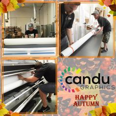 #happyautumn  from #Candugraphics  for all your big signage and printing needs check us out at www.candugraphics.com or give us a call at (310) 820-1620