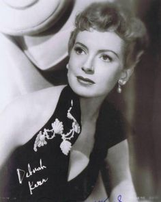 Old Hollywood Stars, Hollywood Icons, Golden Age Of Hollywood, Hollywood Actresses, Classic Hollywood, Deborah Kerr, The Sweetest Thing Movie, Star Wars, British Actresses