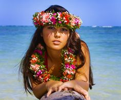 Picture of beautiful young polynesian girl in hawaii on a palm tree stock photo, images and stock photography. Hawaiian Woman, Hawaiian Girls, Hawaiian Dancers, Hawaiian Art, Hawaiian Phrases, Polynesian Girls, Polynesian Dance, Polynesian Culture, Polynesian Islands