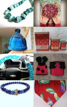 Reds and Blues by Christy Marquis on Etsy--Pinned with TreasuryPin.com