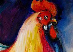 Detail Image for art MISTER SHOW ~ ROOSTER ART