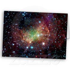 Dumbbell Nebula in Infrared Card #space #zazzle #astronomy #nasa Credit: NASA/JPL-Caltech/Harvard-Smithsonian CfA