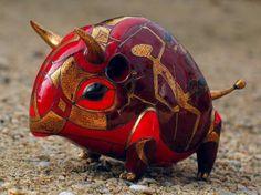 Des céramiques décorées - via Afag