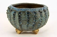 Blue Bonsai Accent Pot, Ø 8,5 cm, H 5,5 cm E301