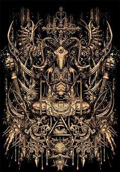 Dark Fantasy Art, Dark Art, Apocalypse Art, Creepy Images, Satanic Art, Evil Art, Font Art, Occult Art, Pointillism
