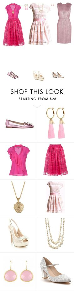 """""""Audrey Rose"""" by cynthiatorres-ii ❤ liked on Polyvore featuring Frances Valentine, Mignonne Gavigan, GUESS by Marciano, Sans Souci, 2028, Faith, Banana Republic, Fantasy Jewelry Box, Shoes of Prey and Gucci"""