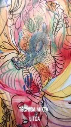 Litca(@litca.art) on TikTok: Hola! 🤍#litca.art #sketchbook #litcadesign #venezuelanartist #tecnicamixta #dibujar #acrilicpainting #colorful #cuadernodedibujos #draw #artista Rooster, Artwork, Animals, Design, Draw, Artists, Work Of Art, Animales, Auguste Rodin Artwork